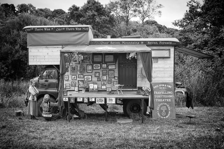 Hedgespoken at Base Camp, Devon, 2016